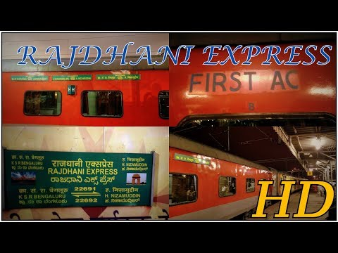 Most Expensive Class of Travel in INDIAN RAILWAYS | First AC | Bengaluru Rajdhani Express