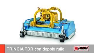 TRINCIA TDR a doppio rullo ZANON