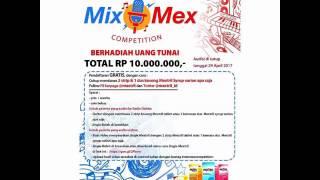 Jingle Mextril Dangdut - #MixMexCompetition Di Radio Dahlia FM