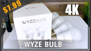 Wyze Bulb |  Unboxing  |  Setup  |  Review  | Worth it? - Smart Home Automation