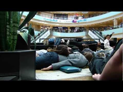 Planking Flashmob Twiplanking