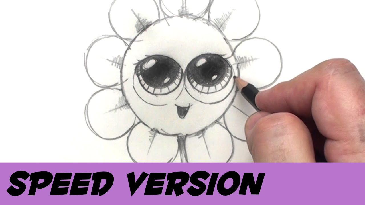 How To Draw A Flower With Coins  Speed Drawing Cartoon Flower  Bp   Youtube