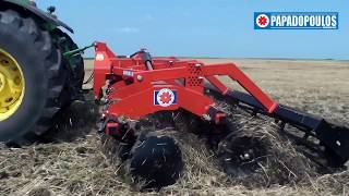 Presentation of Papadopoulos Agricultural  machines in Bulgaria