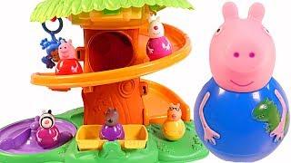 Mejores Videos Para Niños - George Weebles Peppa Pig Fisher Price Jungle Fun Videos Children