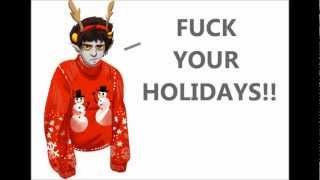Repeat youtube video Karkat sings Jingle Bells
