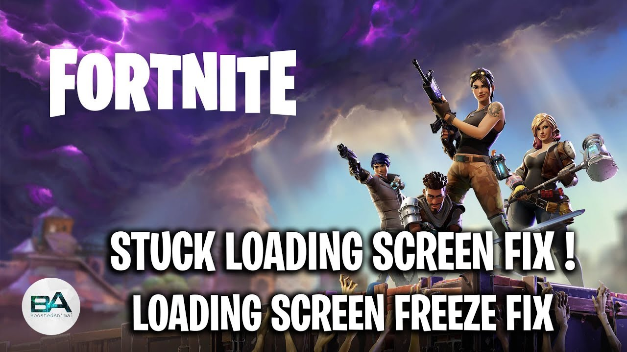 Fortnite Stuck On Loading Screen Mac fix fortnite stuck on loading screen | loading screen freeze fix [ season 9  ]