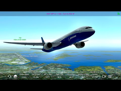 Infinite Flight Boeing 787-10. NEW! Multiplayer.ATC.New York