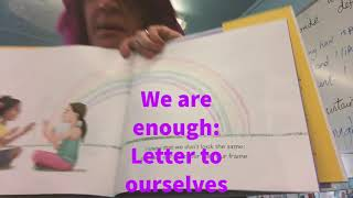 I am enough - a letter to myself