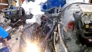 Скачать Запуск 5vzfe с расходомером свап 5vzfe Nissan Largo