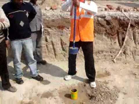 Anulab Density Of Soil In Situ By Core Cutting Method As