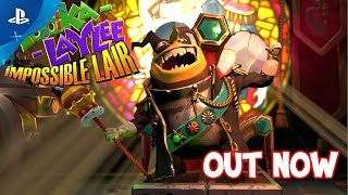 Yooka-Laylee and the Impossible Lair - Launch Trailer | PS4
