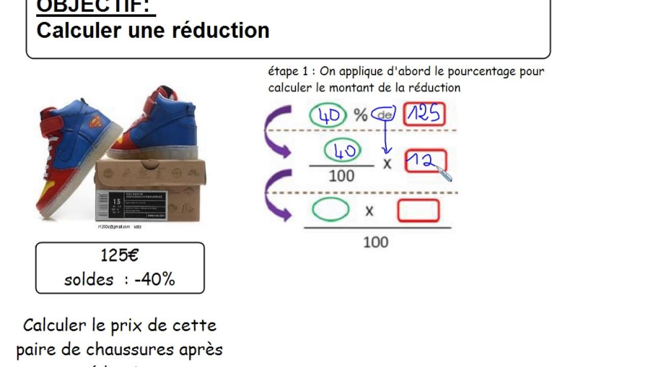 Cycles34 Calculer Une Réduction Chaussures Soldées