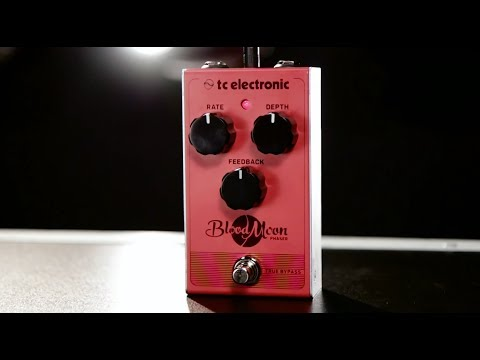 8fe9521b353 Tore Mogensen Demos The TC Electronic Blood Moon Phaser Pedal