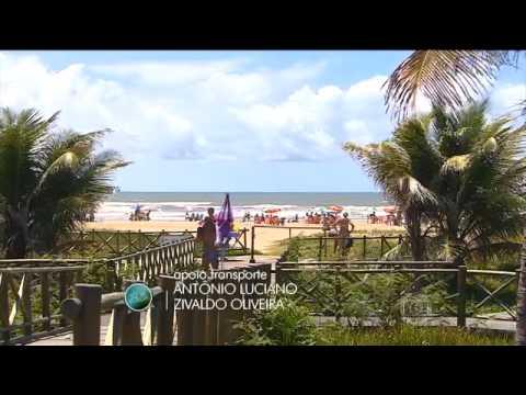 Tô de Folga - Praias de Aracaju, Sergipe no Jornal Hoje (12.02.2016)