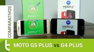 Comparativo: Moto G5 Plus vs G4 Plus | Review do TudoCelular
