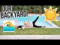Backyard Tour | Our New Backyard!