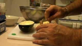 Italian Stuffed Zucchini - Wicked Good Eats