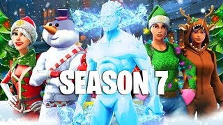 SEASON 7 SKINS IN FORTNITE, CHRISTMAS LEAKS, WRECK IT RALPH GAMEMODE! (Fortnite Battle Royale)
