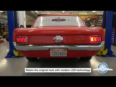 1966 mustang rear wiring led sequential tail lights for 1964 1 2 1966 ford mustang youtube  led sequential tail lights for 1964 1 2