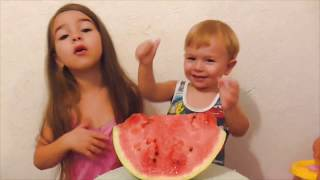 Fruit Colorful Watermelon Kids Nursery Rhymes Song for Children