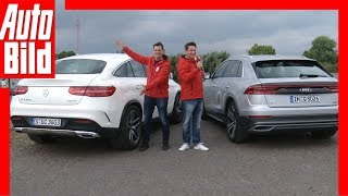 Audi Q8 vs Mercedes GLE Coupé (2018) Vergleich / Review