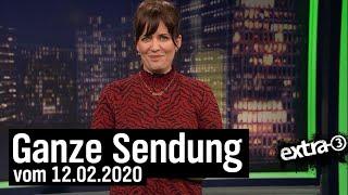 Extra 3 vom 12.02.2020 mit Sarah Kuttner