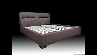 видео кровать с ящиком для бельям