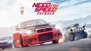 Need For Speed Payback: NEED. FOR. SPEED.