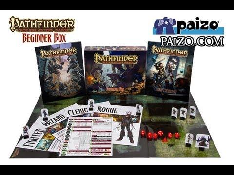 Game Geeks  #189  Pathfinder Roleplaying Game, Beginner Box by Paizo