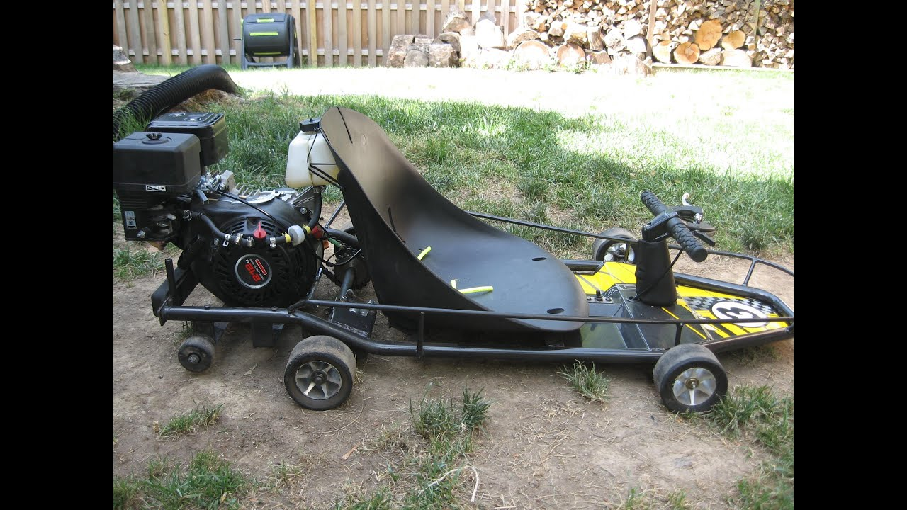 how to make a 6.5 hp go kart faster