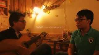 Anh muốn em sống sao guitar acoustic