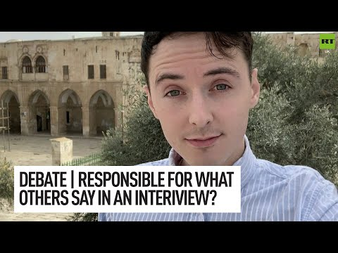 DEBATE | Are journalists responsible for what an interviewee says?