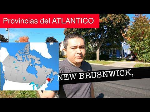 Provincias del ATLANTICO - New Brunswick - CANADÁ