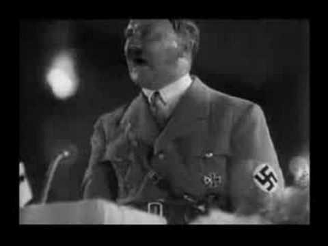 Hitler Singing - The Jeffersons Theme