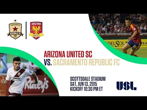 Arizona United SC vs Sacramento Republic FC