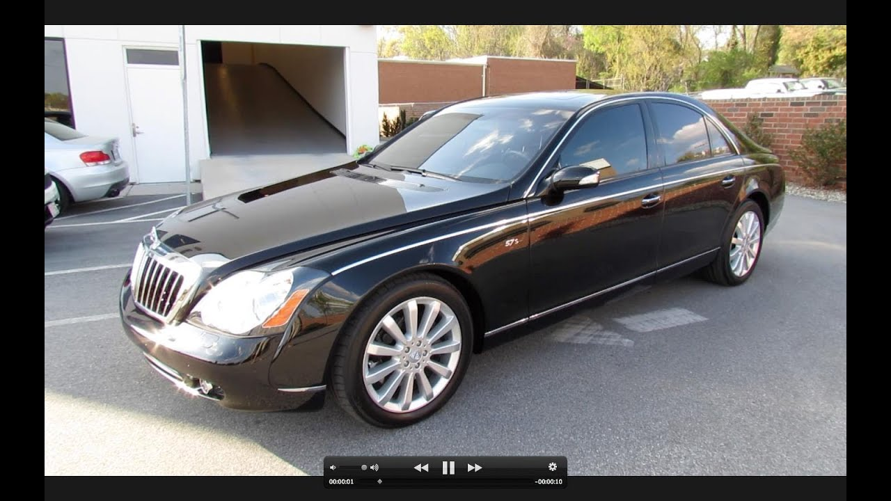 2007 maybach 57 s start up exhaust and in depth tour