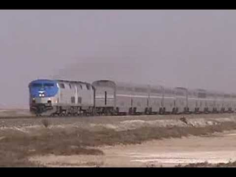 Thumbnail: Amtrak Coast Starlight #11 at Alviso, California