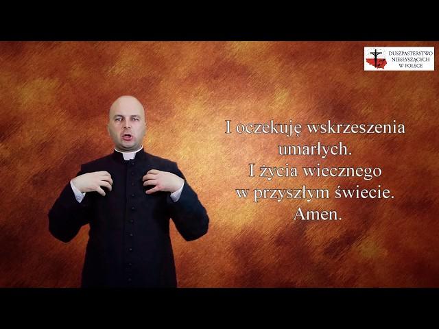 Modlitwy migane - Credo - Wierzę w Jednego Boga