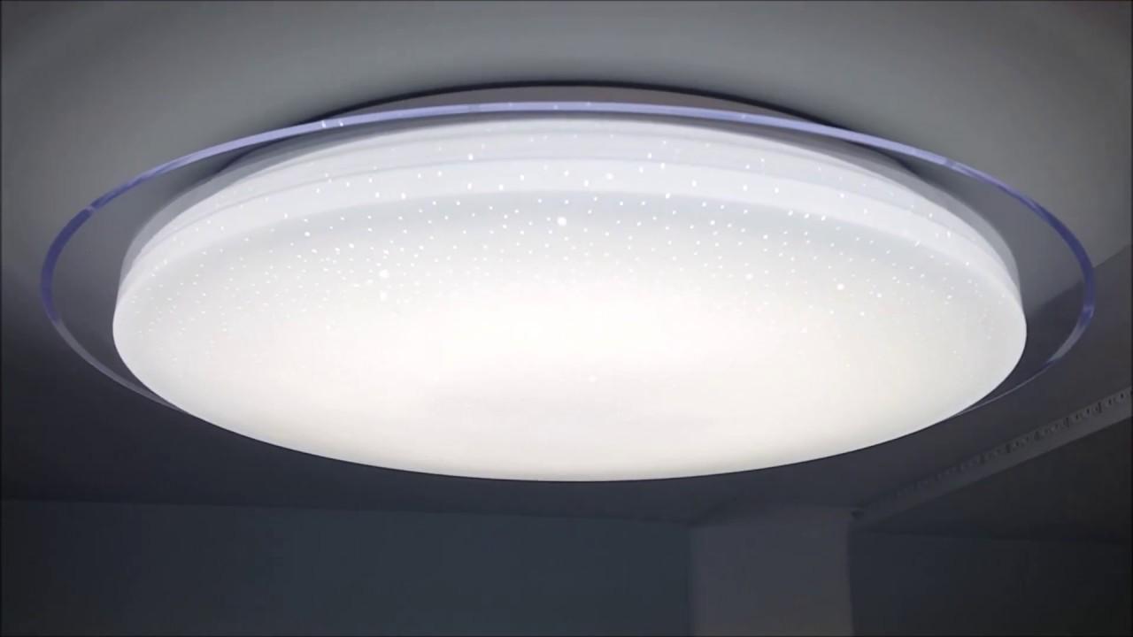 Plafoniere Led Rgb : Aplica led w dimabila cu telecomanda functii youtube