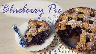 Polymer Clay Blueberry Pie Tutorial
