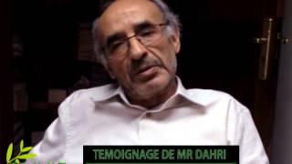 Témoignage de Mr Bennis Dahri sur les bienfaits de l'huile d'olive extra vierge OLIVIE PLUS 30X,