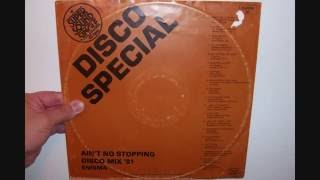"""Enigma - Ain't no stopping Disco mix '81 (1981 12"""")"""