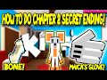 HOW TO GET NEW CHAPTER 2 SECRET ENDING IN ROBLOX KITTY UPDATE!