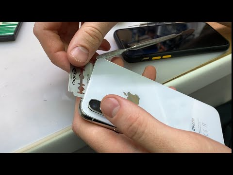 Треснуло стекло iPhone X во время ремонта - ОШИБКА МАСТЕРА!