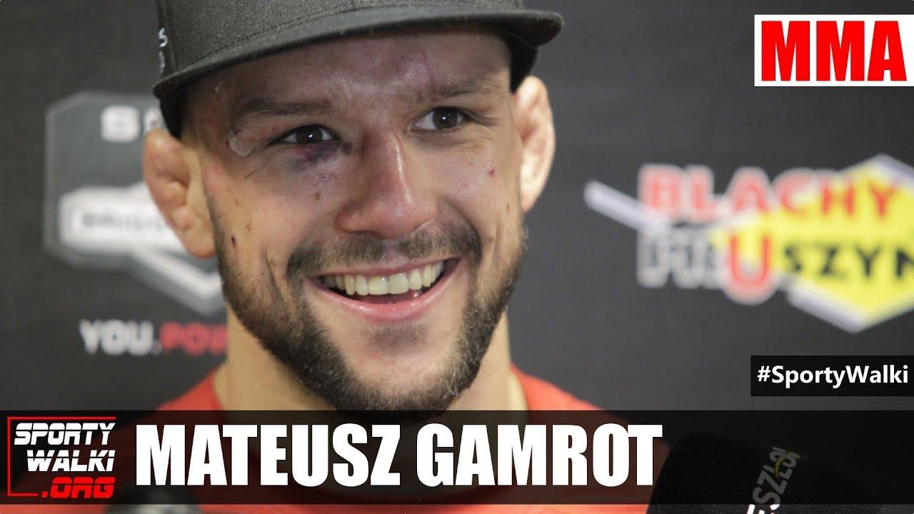 KSW 42: Mateusz Gamrot poddał Grzegorza Szulakowskiego