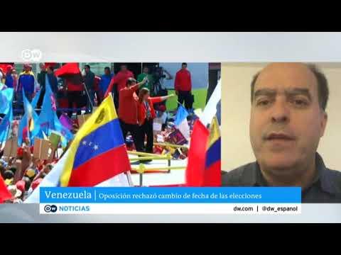 """Julio Borges: """"Candidatos inscritos son del oficialismo"""""""