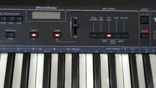 Technics K300 keyboard