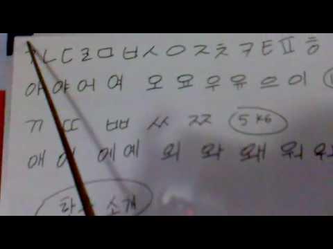 belajar bahasa korea 1