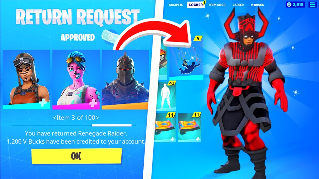 DELETING My Friend's Skins & SURPRISING them with CUSTOM SKINS.!