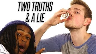Co-Workers Play Two Truths and a Lie, DRUNK